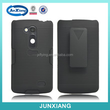 2015 wholesale rugged holster combo case covers for LG L70 PLUS with clip kickstand cases alibaba