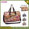 China manufacturer nylon waterproof foldable lightweight travel bag