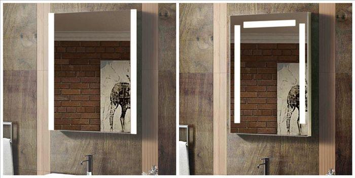 Cheap Illuminated Bathroom Mirrors: Led Illuminated Frameless Cheap Large Decorative Wall