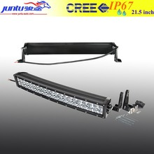 New! 120W 12V 20 Inch 3d Lens Curved LED Light Bar Off Road Car Accessories