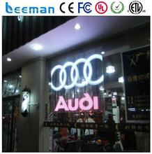transparent led display glass led billboard outdoor multi color led moving display big led video screen on outdoor glass wal