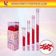 Wedding Party Popper with Transparent Tube