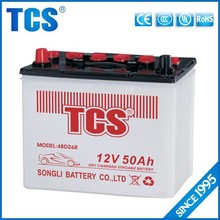 best 50ah dry car battery manufacturers/battery for car/used car batteries for sale