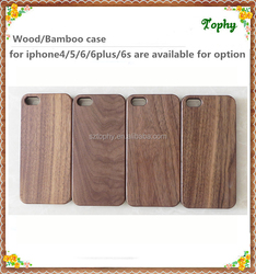 Real Walnut Wood+PC Mobile Phone Case For Iphone 6 Wood Case