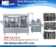 Full Automatic Plastic Bottle Water Filling Packaging Project (CGF 24-24-8)