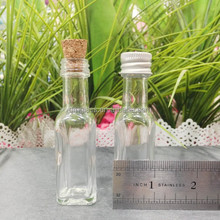 DIY Wedding favor mini liquor glass bottle