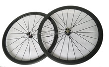 2015 FUSHENG factory direct sell hand made 700C carbon wheelset, 3K/UD 700c carbon road bike wheelset clincher