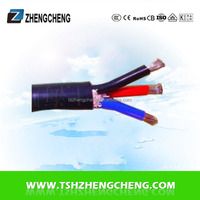 Low voltage rubber cable price per meter