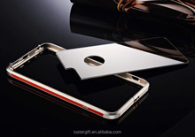 New products ! Mirror phone case for iPhone 6 metal bumper