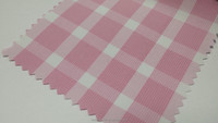 2015 Collection Girly Pink Stripes Checker Fabric