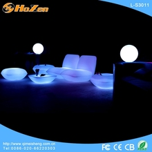 Supply all kinds of acrylic LED chair chair,recliner. corner LED chair
