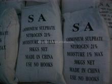 china manufacturer high quality granule/powder ammonium sulfate for 21% nitrogen fertilizer
