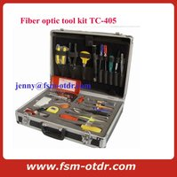 Fiber Optical Cable Inspection tool Kit and Optic Network Maintenance Tool Kit