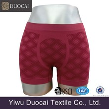 Lucky red sexy boxer shorts for men seamless man underwear
