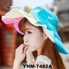 2015 Fashion Spring Summer Outdoor Beach Sun Protection Hat, Large Brim Hat Lady Floppy Cap Hat