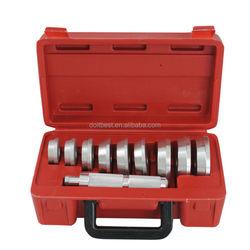 10Pc Aluminium Universal Wheel Bearing Race Seal Bush Install Driver Garage Clutch Axle Housing Bearing Auto Repair Tool Set