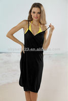 Hot sale sexy fashion girls pareo beachwear