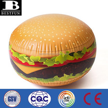 promotional custom made inflatable gigantic bouncing burger ball Giant inflatable advertising hamburger