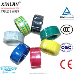 High quality Single Core PVC Insulated Electric Cables Civil Electric Wire