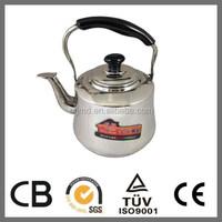 Stainless Steel Korean Tea Whistling Kettle