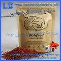 Cadena de proceso automático de alimentos para peces