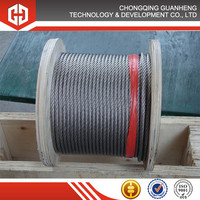 galvanized steel wire rope for highway guardrail