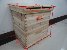 top quality honey beehive for beekeeping from the biggest bee industry zone of Chinese