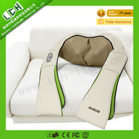 2015 Top Selling BLH Deluxe 3D shiatsu neck relax shoulder massage belt with kneading and heating for health care China factory