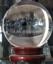 800mm large size glass ball crystal sphere fengshui decoration