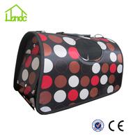 New design elegant canvas carrier package rabbit dog cat pet carrier comfortable dog carrier bag