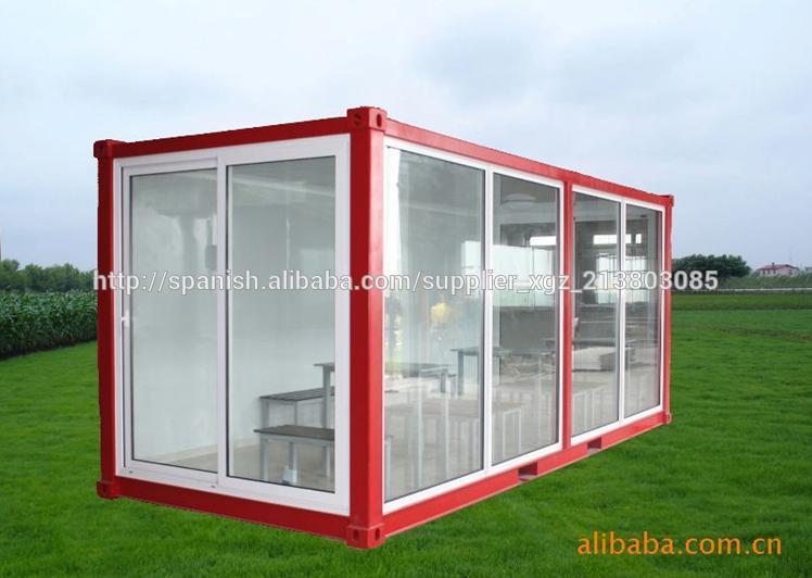 Casa contenedor modular para oficina sal n sala de - Precio casa contenedor ...