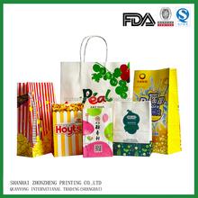 kraft food paper bag by machine