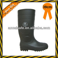 coal mining industrial heavy duty PVC boots with steel toe and steel plate