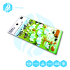 3D flocking sticker/velvet sticker/giraffe elephants design