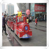 Electric Train,Kids Track Train For Park electric toy train sets,electric ride on train