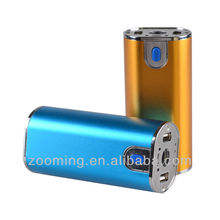 2014 Zooming sell well high quality new technology power bank 10400 mah