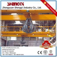 High Efficient Special Design Garbage Power Station Grab Bucket Overhead Crane Station Overhead Crane System