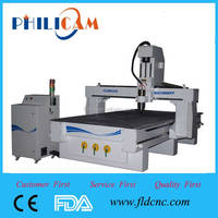 High level! Jinan PHILICAM wood cnc router furniture making machine