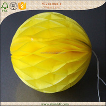 boys party decoration hanging glittered tissue paper Honeycomb Ball Balloons