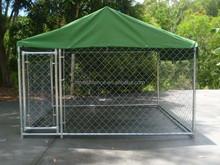 Large dog kennel keep dog in a safe new ultra dog kennels cage fence /Tarter Kennels - Ranch Works