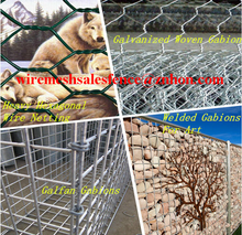 Low price high quality gabion box stone cage with big factory