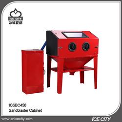 Air Compressor Delivery 60-120PSI@15-25CFM Portable 450L Mini Sandblasting Machine