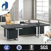F-35 single office desk commercial furniture table black gloss office desk