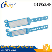 Welcome OEM ODM any color available mother and baby insert card wristband