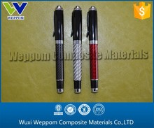 Exquisite Gifts,Glossy Carbon Fiber Gel Pen Supplying