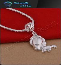 Wholesale new design gold jewelry lion animal shaped gold charm bracelet for men