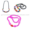 Factory Price silicone beads mutiple colors for wholesales