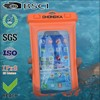 customized color and type pvc waterproof bag for apple iphone 6