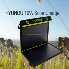 Alibaba best sellers waterproof flexible solar panel 10W/ Portable Mobile Solar Charger