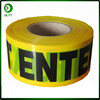 China Good Quality Black And Yellow Reflective Warning Tape /Red and white caution tape